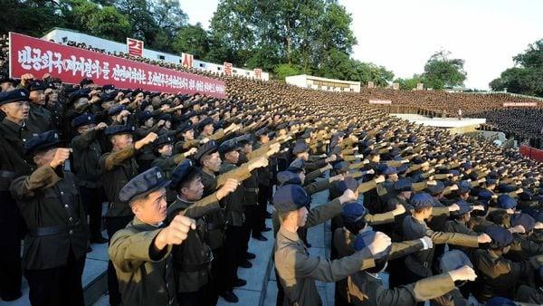 Unos 3,5 millones de norcoreanos solicitaron alistarse para luchar contra los Estados Unidos