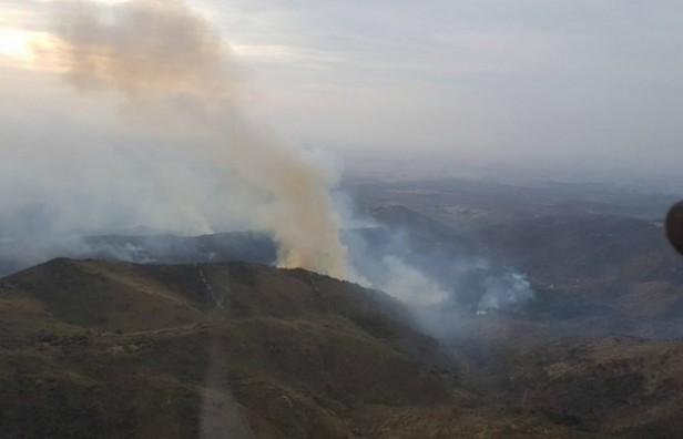 Logran controlar todos los incendios en las sierras de Córdoba