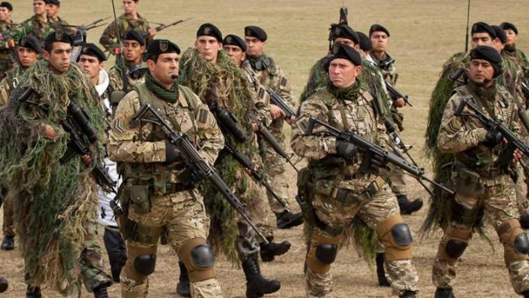 Llegan militares a La Quiaca para custodiar la frontera