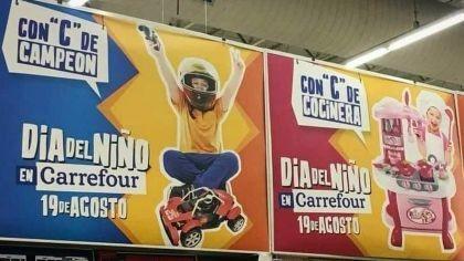 Carrefour tuvo que retirar publicidad