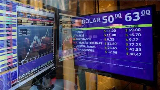 El dólar saltó $ 5 y cerró a $ 63 en el Banco Nación