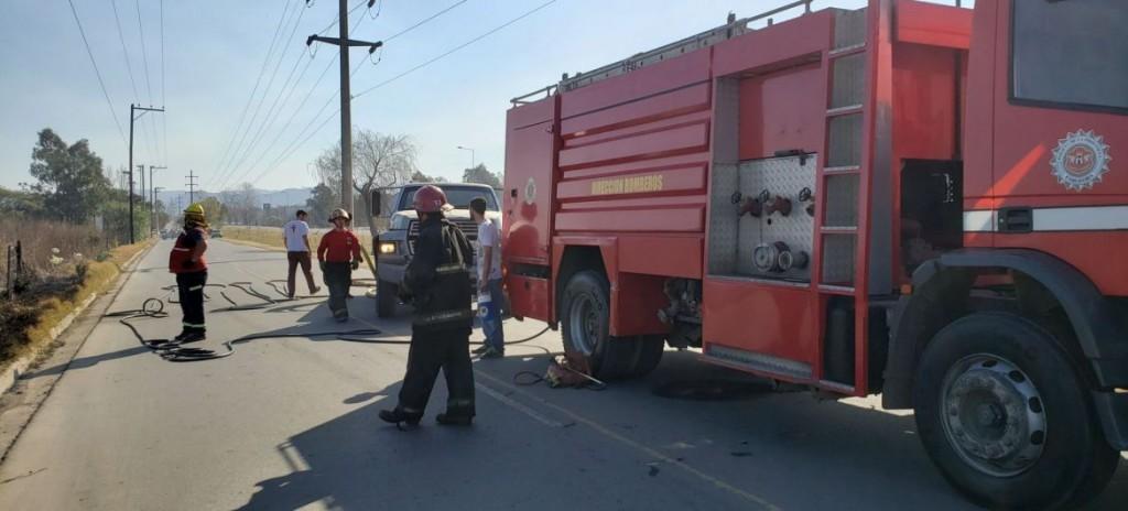 Incendio en Villa Allende: detuvieron a una mujer