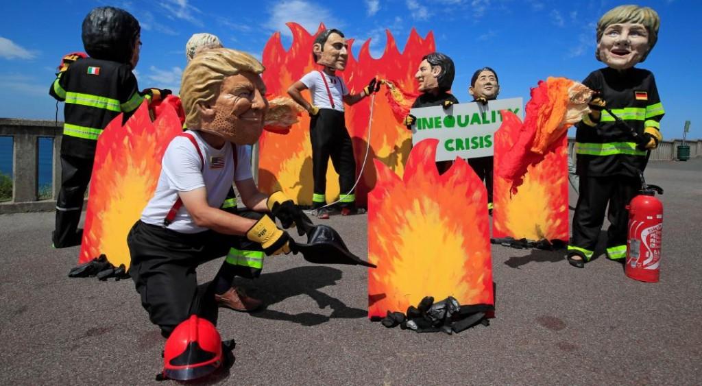 Sube la tensión entre Bolsonaro y Macron por el fuego en Amazonia