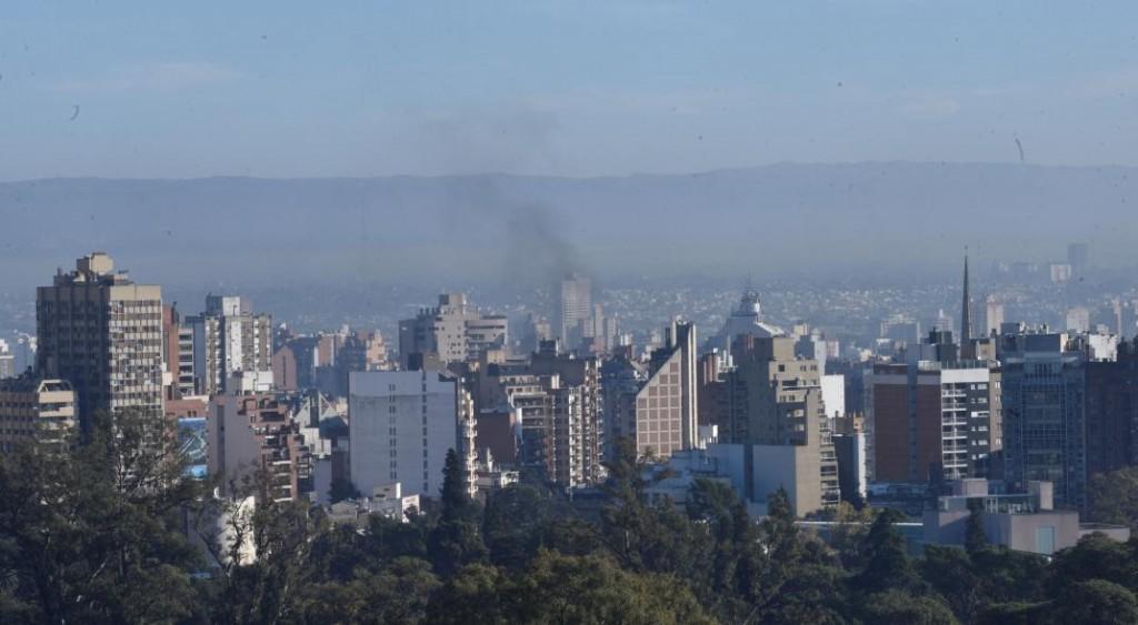El humo de los incendios en la Amazonia está llegando a Córdoba