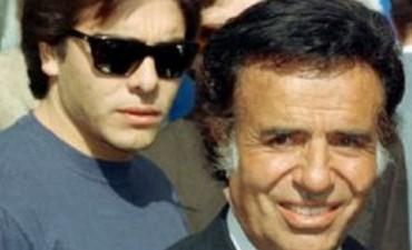 Menem fue citado como testigo por la muerte de su hijo