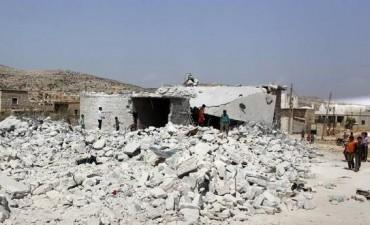 Nueva jornada de bombardeos de EE.UU. en Siria Ofensiva aérea.