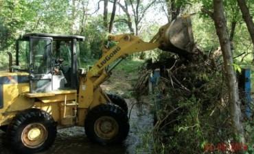 Limpieza arroyos