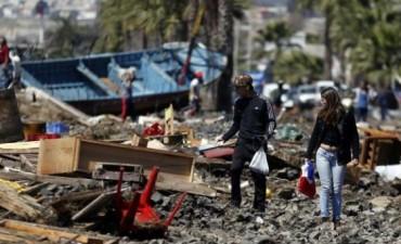 Chile sufrió 11 muertos en el 6° sismo más fuerte de su historia