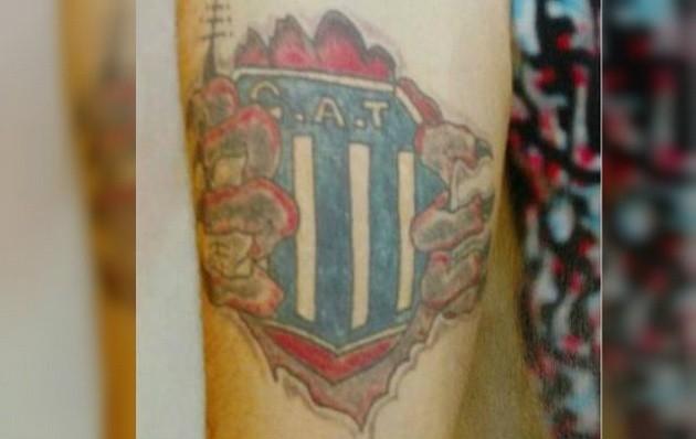 Reconocieron a un ladrón gracias a su tatuaje de Talleres