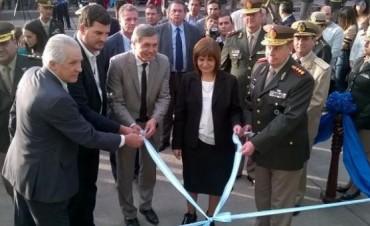 Bullrich inauguró una dependencia de Gendarmería en Río Ceballos