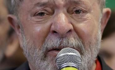 Lula Da Silva no pudo contener sus lagrimas luego de alegar su inocencia