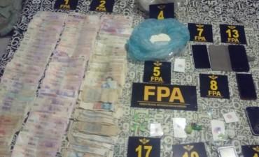 Detenidos por venta de droga en Pilar y en Marcos Juárez