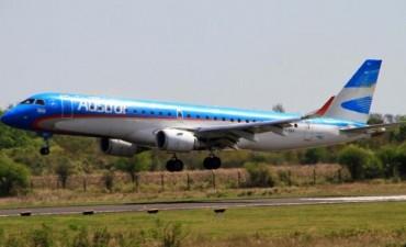 Un avión debió volver a pista por un pájaro que se metió en un motor