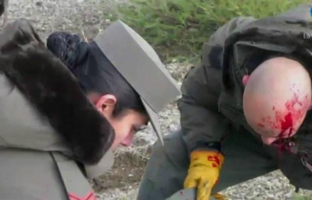 Un gendarme admitió haber agredido a un manifestante