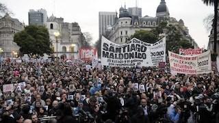 Organismos de derechos humanos y agrupaciones políticas se movilizan para pedir la aparición de Santiago Maldonado