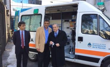 Se suma otra ambulancia al servicio de la comunidad