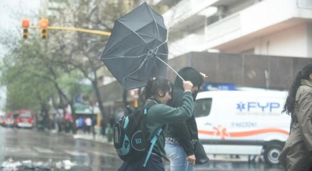 Las lluvias seguirán al menos hasta el sábado en Córdoba