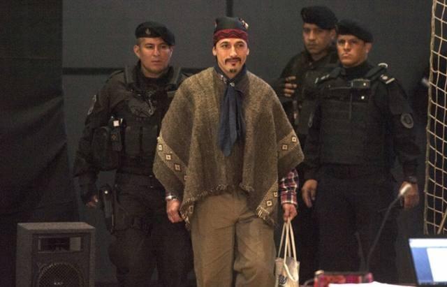 El líder mapuche Jones Huala fue extraditado a Chile