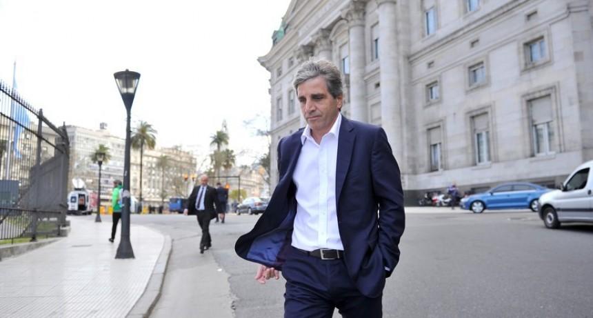 Renunció el presidente del BCRA Luis Caputo