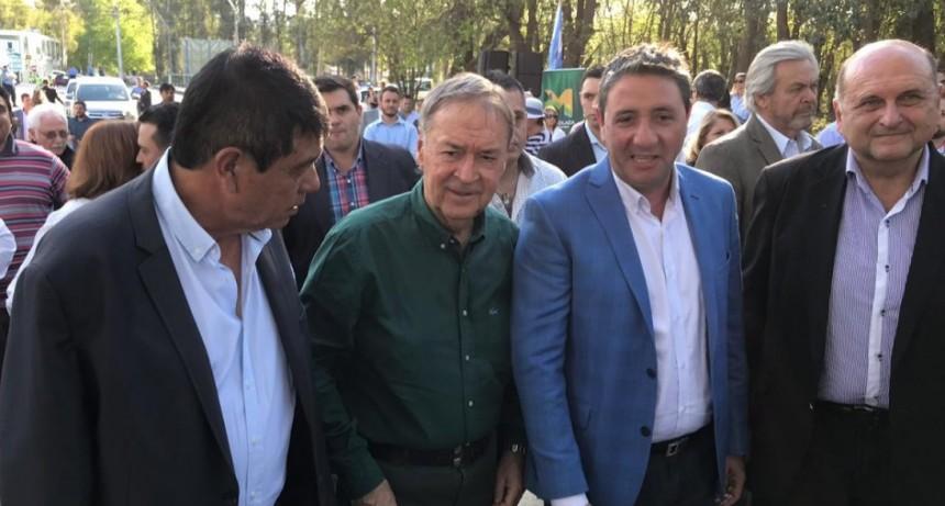 Inauguran obra Avenida Argentina