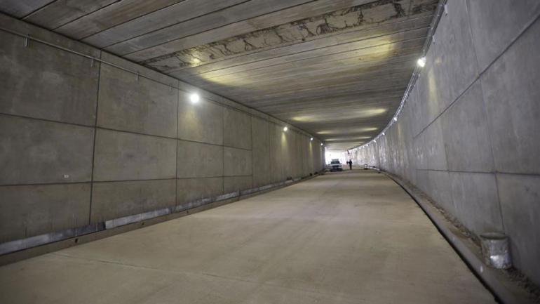 Hoy habilitan el nuevo túnel de Plaza España