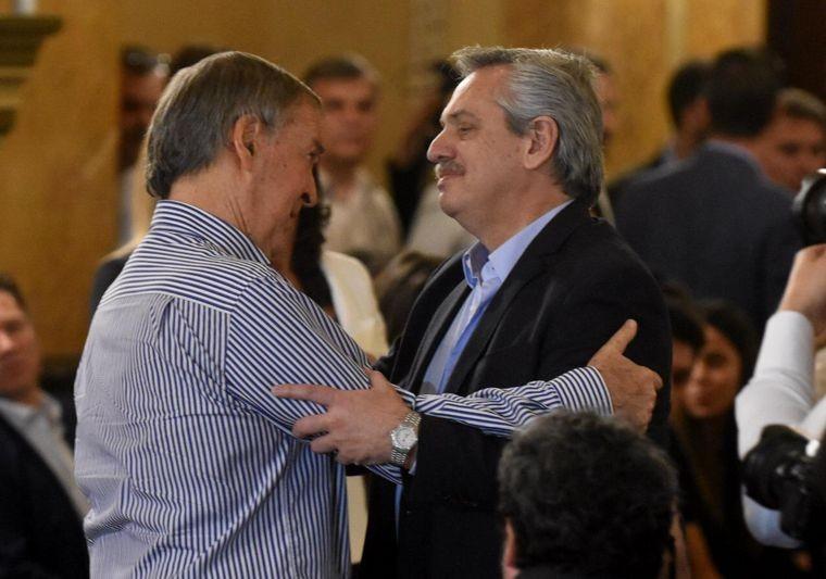Alberto Fernández criticó a Schiaretti por su