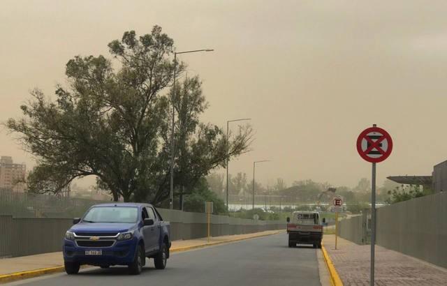 Alerta por vientos intensos para Córdoba