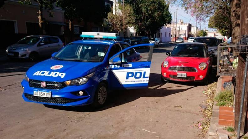 Emanuel Santos Rojas Romeros quedó detenido tras la salidera. El hecho ocurrió en barrio Alta Córdoba.