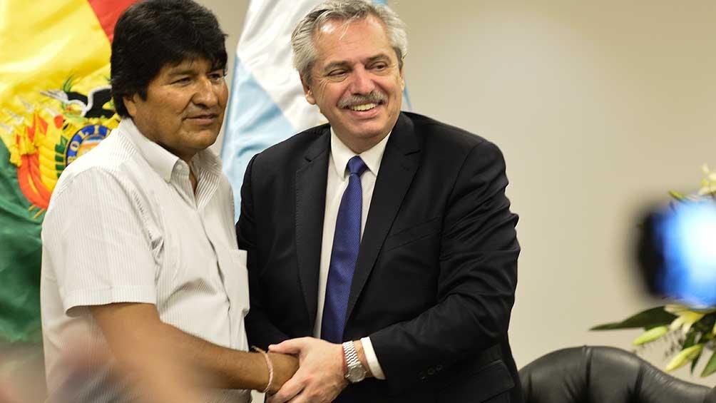 Alberto Fernández se reunió con Evo Morales en Bolivia y hablaron de