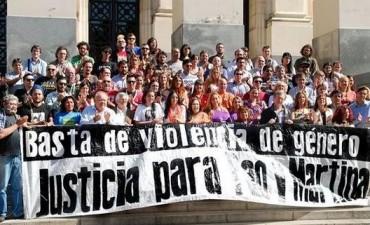 Reclaman justicia por Martina