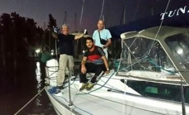 Encontraron una balsa salvavidas que podría pertenecer al velero Tunante II
