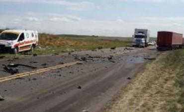 Accidente fatal cerca de Achiras