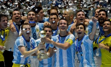Argentina se consagró campeón mundial de futsal