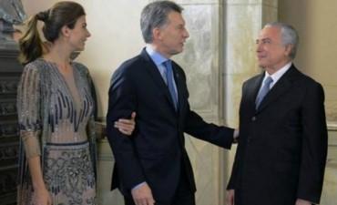 Macri recibirá a Temer para relanzar la relación bilateral