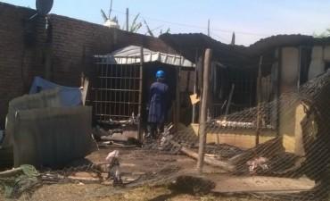 Nenas de  2 y 4 años quedaron solas y murieron en un incendio