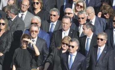 Brochero santo: Macri, Schiaretti, Mestre y otras autoridades siguieron la ceremonia