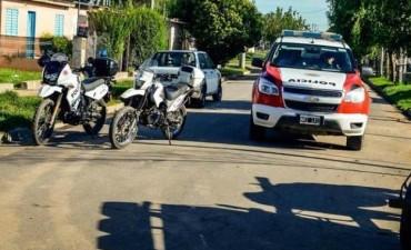 Persecución y tiros por auto robado