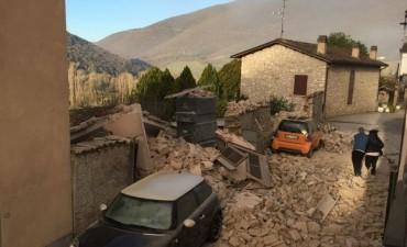 Otro fuerte terremoto azota el centro de Italia