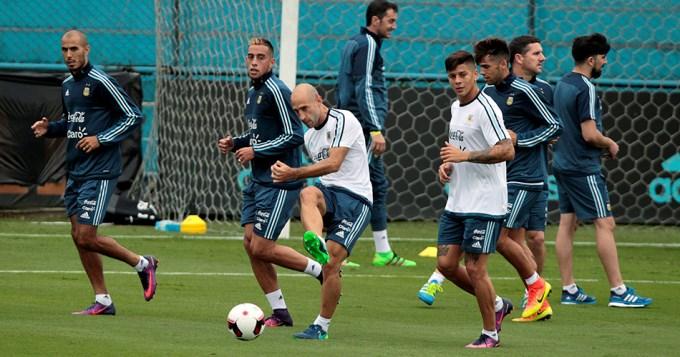 En la primera práctica argentina no faltó nadie