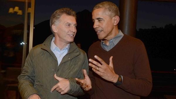 Macri con Barack Obama