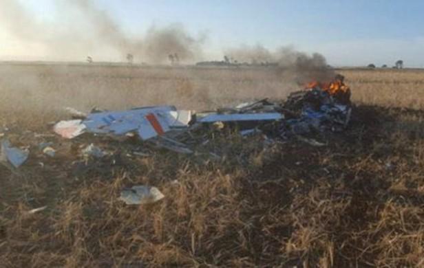 Se estrelló un avión de la fuerza aérea en Córdoba y los pilotos salieron ilesos