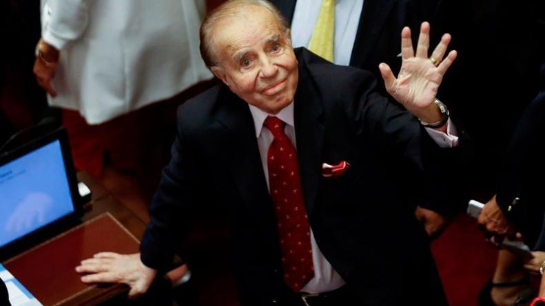 Armas: absolvieron a Menem y hay preocupación en Río Tercero