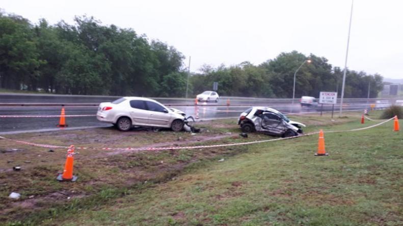 Una joven murió en un fatal accidente en la ruta E55