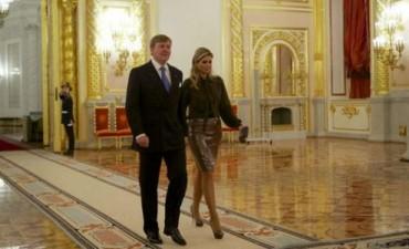 Máxima y Guillermo de Orange visitan a Putin en medio de tensiones