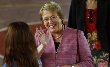 Bachelet admitió que va a la segunda vuelta