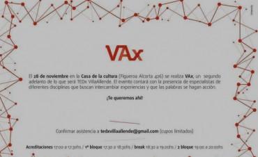 Mañana Jueves 28  VAx, un adelanto de lo que va ser TEDx Villa Allende 2014.