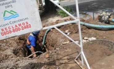 Trabajo exitoso, vecinos con agua