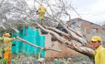 Santiago del Estero. Poderoso tornado arrasó a Ojo de Agua
