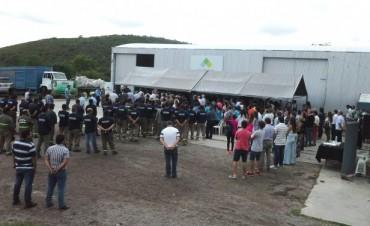 Quedó inaugurada la planta de tratamiento, transferencia y recuperación de RSU