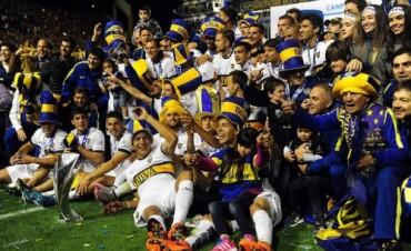 Boca se consagró campeón en una Bombonera repleta